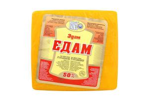 Сыр 50% твердый Эдам Вись кг