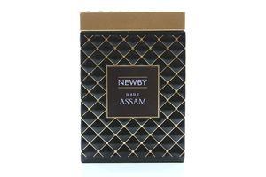 Чай Newby Rare Assam чорний байховий 100г