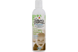 Nature's Promise 2 in 1 Baby Shampoo & Wash