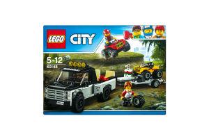 LEGO® City Гоночная команда 60148