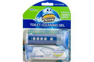 Scrubbing Bubbles Toilet Cleaning Gel - 6 CT