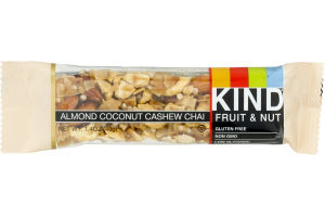 KIND Fruit & Nut Bar Almond Coconut Cashew Chai