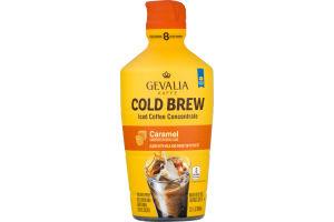 Gevalia Ice Coffee Concentrate Cold Brew Caramel