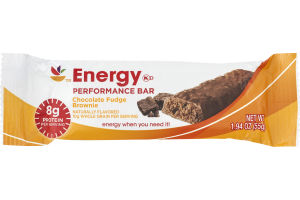 Ahold Energy Performance Bar Chocolate Fudge Brownie