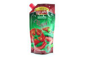 Кетчуп Щедро Чили в пакете 300г