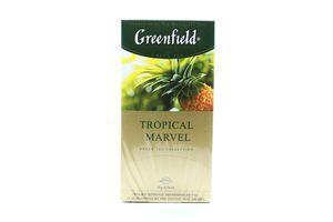 Чай зеленый Tropical Marvel Greenfield к/у 25х2г