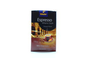 Кофе молотый Milano Style Espresso Tchibo м/у 250г