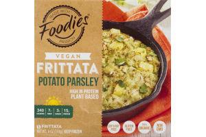 Foodies Vegan Frittata Potato Parsley