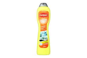 Крем универсальный чистящий с ароматом лимона Helper 500мл