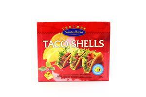 Кукурузные кармашки Taco Shells Santa Maria к/у 135г