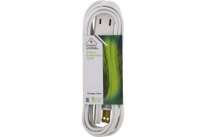 Smart Living Indoor Extension Cord 9 Foot
