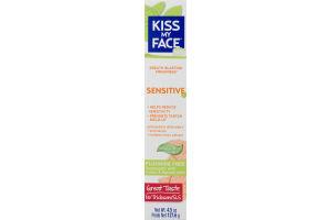Kiss My Face Sensitive Fluoride Free Toothpaste Orange Mint Gel