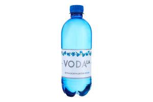Вода питна сильногазована Карпатська високогірна джерельна Voda UA п/пл 0.5л