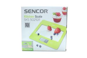 Sencor ваги кухонні SKS 5021GR