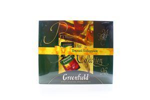 Набор чая Ассорти 24 вида Premium tea Collection Greenfield к/у 169.2г