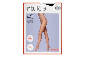 Колготки жіночі Intuicia T-Band 40den №2 чорний