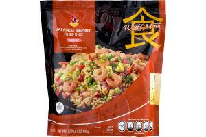 Ahold World Menu Japanese Inspired Fried Rice Shrimp