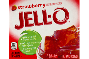 Jell-O Gelatin Dessert Strawberry
