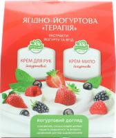 Вельта набір Ягідно-йогуртова терапія (крем д/рук290мл+крем-мило рідке290мл)