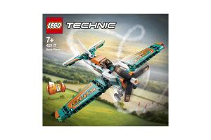 Конструктор для детей от 7лет №42117 Race Plane Technic Lego 1шт