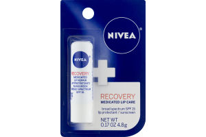 Nivea Recovery Medicated Lip Care