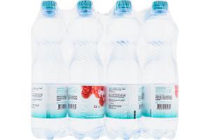 Вода минеральная природная столовая слабогазированная Лагидна Червона калина п/бут 0.5л