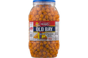 Herr's Old Bay Seasoned Cheese Balls Corn Snacks