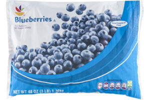 Ahold Blueberries No Sugar Added Natural