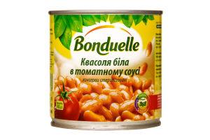 Фасоль белая в томатном соусе Bonduelle ж/б 430г