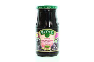 Черная смородина измельченная с сахаром Верес с/б 600г