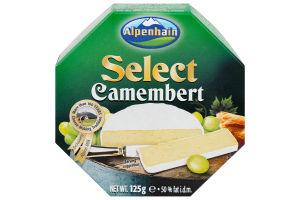 Сир 50% Select Camembert Alpenhain к/у 125г