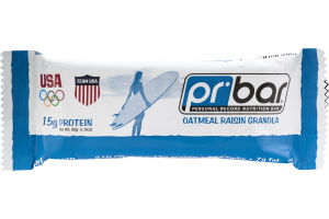 PR Bar Personal Record Nutrition Bar Oatmeal Raisin Granola