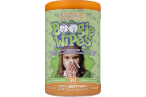 Boogie Wipes Fresh Scent Extra Soft Saline Wipes - 90 CT