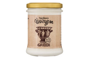 Йогурт 6% Greek Коза Чка с/б 200г