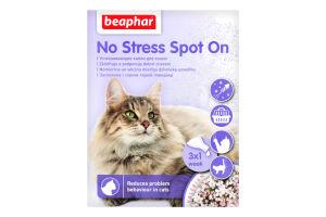 Капли для кошек No Stress Spot On Beaphar 3х0.4мл
