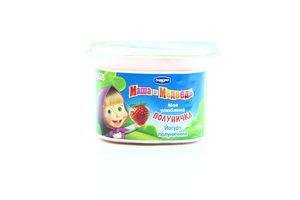 Йогурт 1,4% клубничный Danone Маша и Медведь п/б 115г