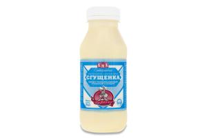 Продукт молоковмісний згущений 8.5% з цукром Згущенка Слобожанська Заречье п/пл 350г
