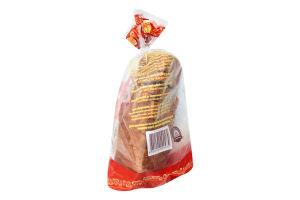 Хліб формовий нарізний Лускунчик Новоград-Волинський хлібозавод м/у 0.4кг
