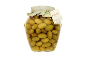 Оливки Fratepietro зеленые с косточкой GG
