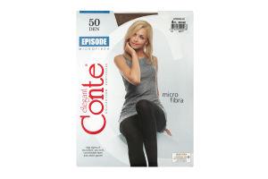 Колготки женские Conte Episode 50den 4-L bronz