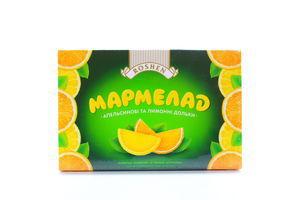 Мармелад апельсин/лимон дольки к/у Roshen 250г