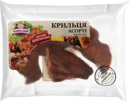 Крильця асорті Бащинский к/в кг