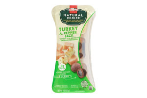 Hormel Natural Choice Oven Roasted Turkey, Pepperjack Cheese, Dark Chocolated Covered Blueberry, 2 Ounce