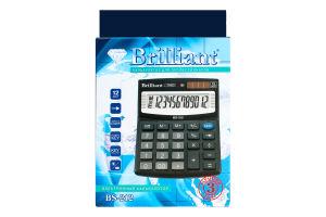 Калькулятор №BS-212 Brilliant 1шт