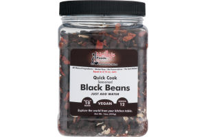 Neilly's Foods Quick Cook Seasoned Black Beans