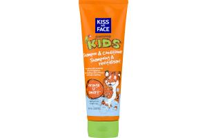 Kiss My Face Obsessively Kids Shampoo & Conditioner Orange U Smart