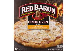 Red Baron Brick Oven Crust Pizza Cheese-Trio