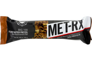 MET-Rx Protein Plus Protein Bar Peanut Butter Pretzel