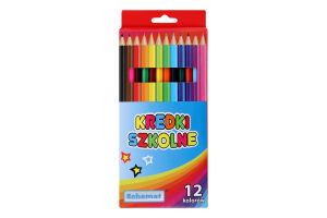 Набор карандашей цветных Schemat 12 шт