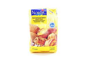 Мука пшеничная высший сорт Nordic м/у 2кг